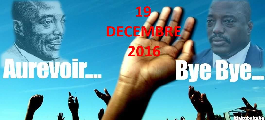 Lucha bye bye Kabila